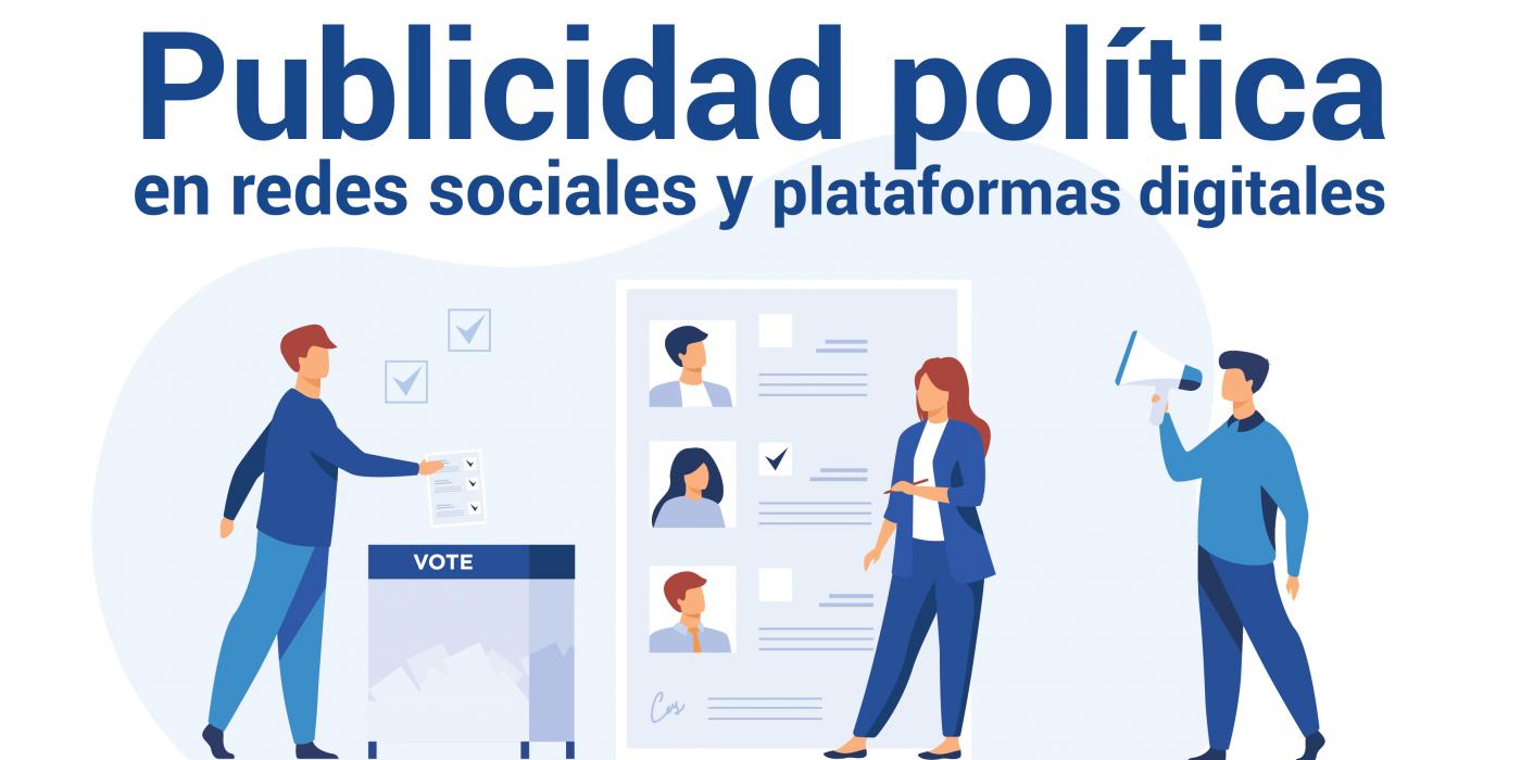 publicidad política en redes sociales